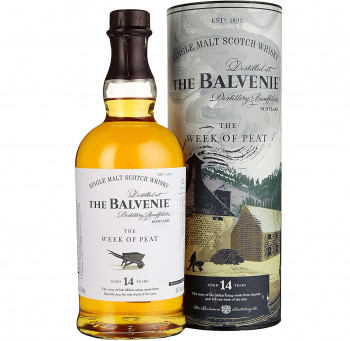 Balvenie The 14 Years Old The WEEK OF PEAT Whisky 48,3% Vol. 700ml