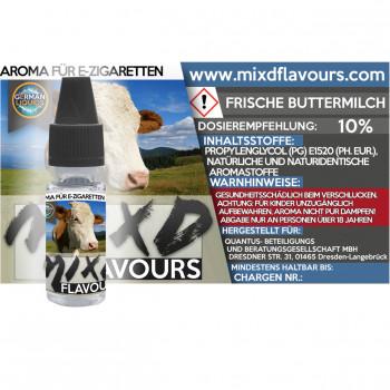 MIXD Flavours Aroma 10ml / Frische Buttermilch