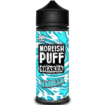 Shakes Vanilla (100ml) Plus e Liquid by Moreish Puff
