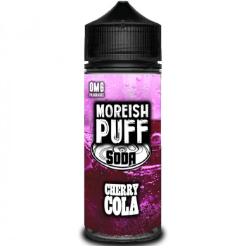 Soda Cherry Cola (100ml) Plus e Liquid by Moreish Puff