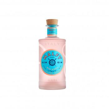 Malfy Gin Rosa mit Pink Grapefruit und Rhabarber 41% Vol. 700ml