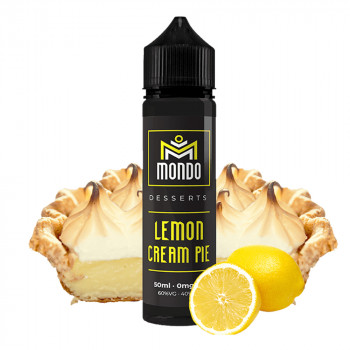 Lemon Cream Pie 50ml Shortfill Liquid by Mondo