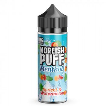 Apricot & Watermelon Menthol 100ml Shortfill Liquid by Moreish Puff
