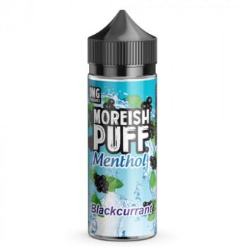 Blackcurrant Menthol 100ml Shortfill Liquid by Moreish Puff