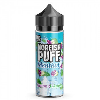 Grape & Apple Menthol 100ml Shortfill Liquid by Moreish Puff