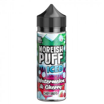 Watermelon & Cherry Candy Drops 100ml Shortfill Liquid by Moreish Puff