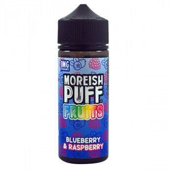 Blueberry & Raspberry 100ml Shortfill Liquids by Moreish Puff