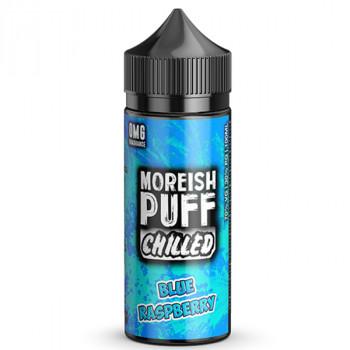 Chilled Blue Raspberry 100ml Shortfill Liquids by Moreish Puff