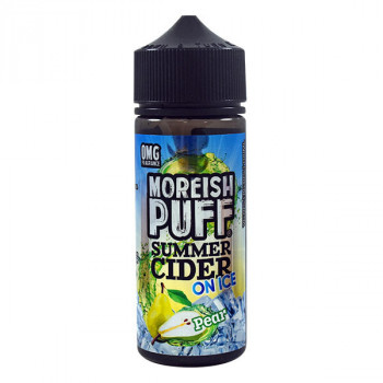 Pear - Summer Cider on ICE 100ml Shortfill Liquids by Moreish Puff
