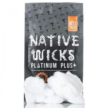 Native Wicks Platinum Plus + Watte 10g