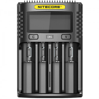 Nitecore UM4 - USB 4-Slot Charger Ladegerät