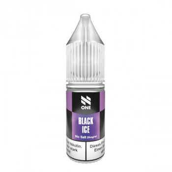 Black Ice 10ml 20mg Nic Salt Liquid by N One