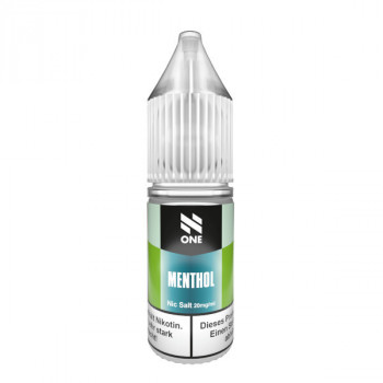 Menthol 10ml 20mg Nic Salt Liquid by N One