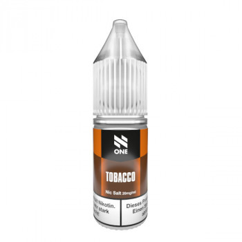 Tobacco 10ml 20mg Nic Salt Liquid by N One