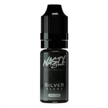 Silver Blend 10ml 20mg Nic Salt Liquid by Nasty Juice
