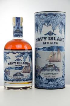 Navy Island Strength - 100% Potstill Matured Jamaican Rum 57% Vol. 700ml