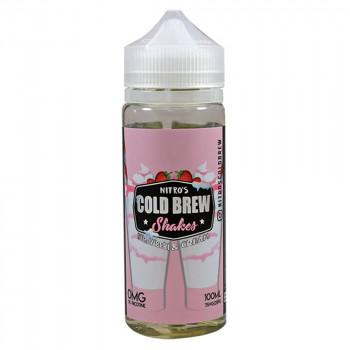 Strawberry and Cream 100ml Shortfill Liquid by Nitro's Cold Brew