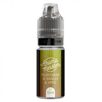 Nusstabak & Vanille & Apfel 10ml Aroma by Aromameister