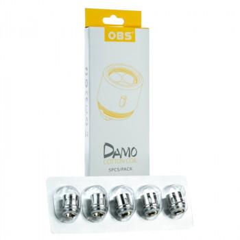OBS Damo MOCC Serie Coils 5er Pack