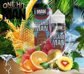 Island Man (50ml) Plus e Liquid by One Hit Wonder
