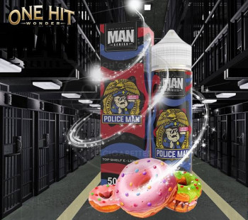 Police Man (50ml) Plus e Liquid by One Hit Wonder