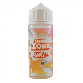 Vanilla Custard 100ml Shortfill Liquid by Ohm Zone