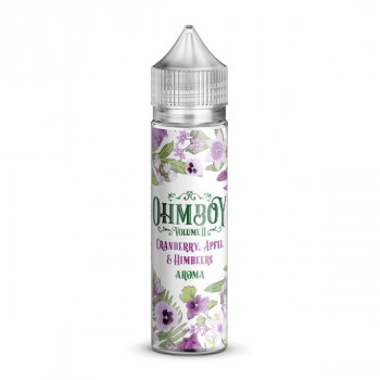 Cranberry, Apfel & Himbeere 15ml Longfill Aroma by Ohmboy Volume II