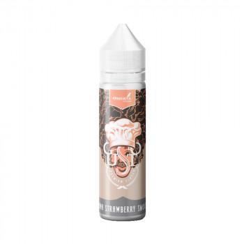 Gusto – Banana Strawberry Smoothie 20ml Longfill Aroma by Omerta Liquids