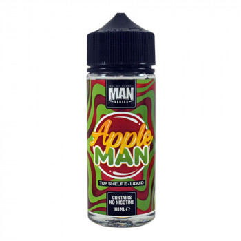 Apple Man 100ml Shortfill Liquid by One Hit Wonder