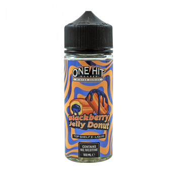 Blackberry Jelly Donut 100ml Shortfill Liquid by One Hit Wonder