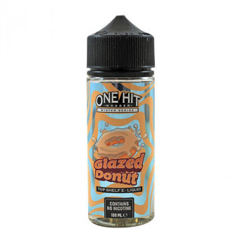 Glazed Donut 100ml Shortfill Liquid by One Hit Wonder
