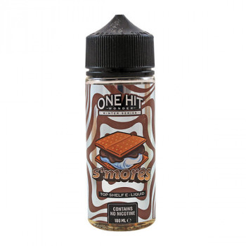 S'mores 100ml Shortfill Liquid by One Hit Wonder