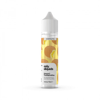 Vanillepudding Krapfen 15ml Longfill Aroma by Only E-Liquids