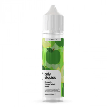 Melone Kiwi Apfel 15ml Longfill Aroma by Only E-Liquids