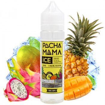 Mango Pitaya Pineapple ICE (50ml) Plus e Liquid by Pacha Mama