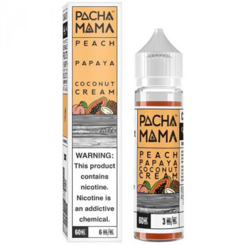 Peach Papaya Coconut Cream 50ml Plus by Pacha Mama