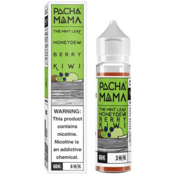 Mint Leaf Honeydew Berry Kiwi 50ml Plus by Pacha Mama