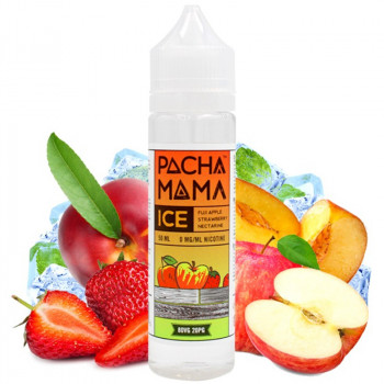 Fuji Apple Strawberry Nectarine ICE (50ml) Plus e Liquid by Pacha Mama