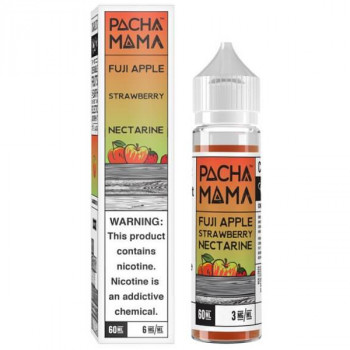 Fuji Apple Strawberry Nectarine (50ml) Plus e Liquid by Pacha Mama