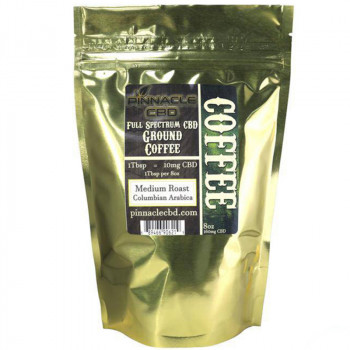 Pinnacle Full Spectrum CBD Ground Coffee 160mg
