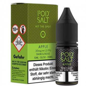 Apple 20mg 10ml Liquid by Pod Salt