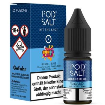 Bubble Blue 20mg 10ml Liquid by Pod Salt