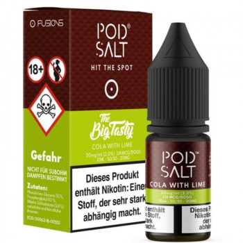 Cola with Lime 20mg 10ml Liquid by Pod Salt