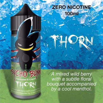 Thorn (100ml) Plus e Liquid by Psycho Bunny