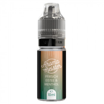 Pfirsich-Eistee & Menthol 10ml Aroma by Aromameister