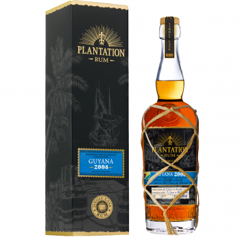 Plantation Rum Guyana 12 Jahre 2008/2020 Pineau des Charentes Single Cask 47.6% 700ml