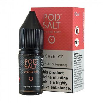 Lychee Ice 20mg 10ml Liquid by Pod Salt