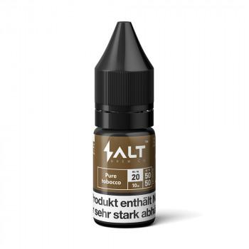 Pure Tobacco Nic Salt Liquid by Salt Brew Co.