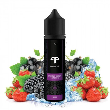 Blackcurrant Blackberry Strawberry ICE 15ml Longfill Aroma by Professor Puff