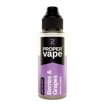 Berries & Grapes Proper Vape 100ml Shortfill by Zeus Juice